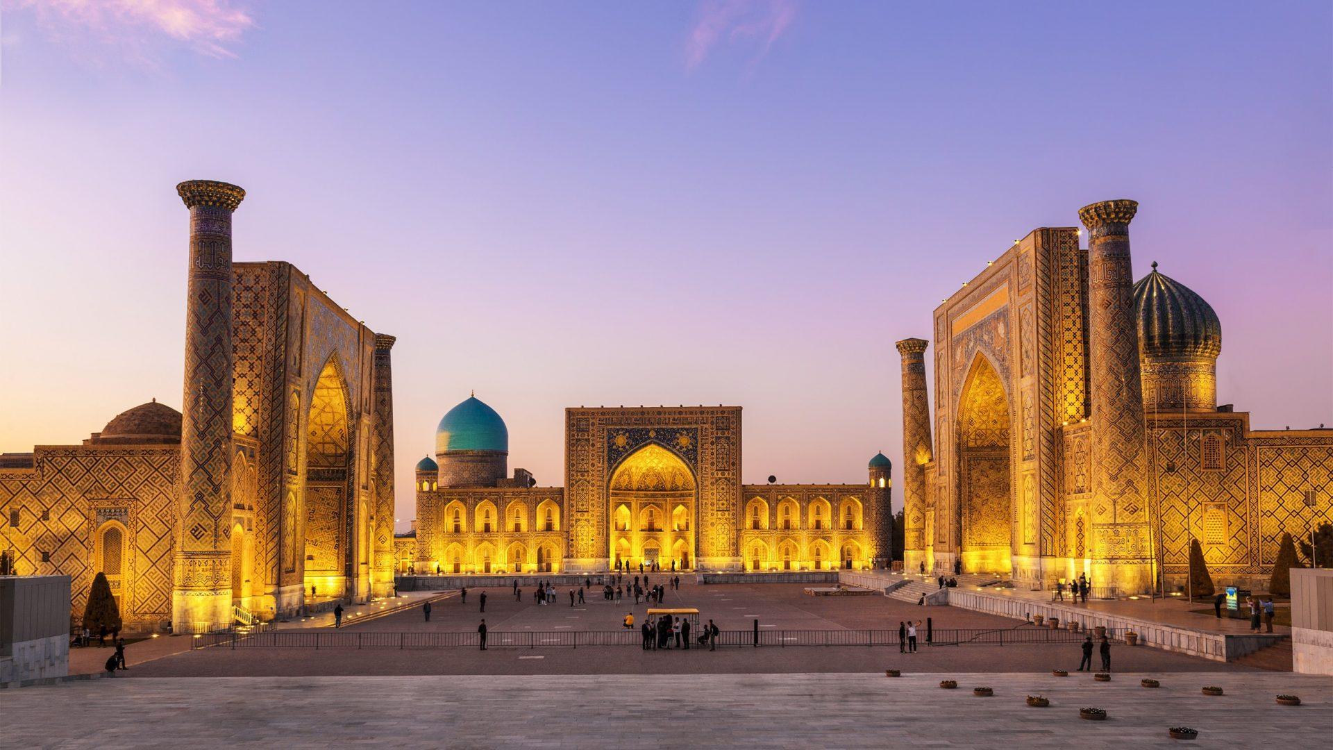 Uzbekistan Ruta de la Seda